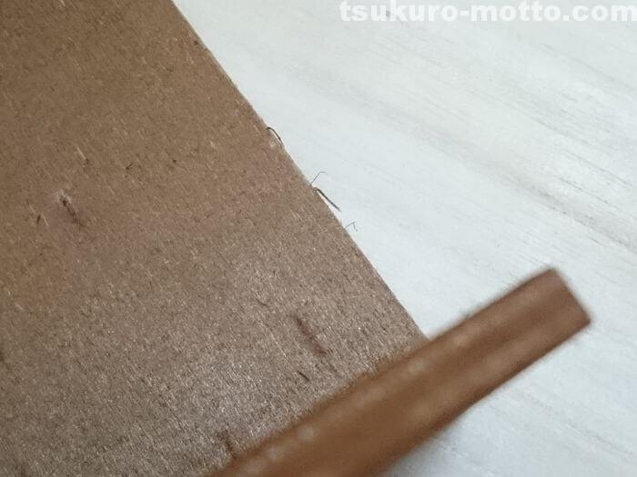 木箱のササクレ