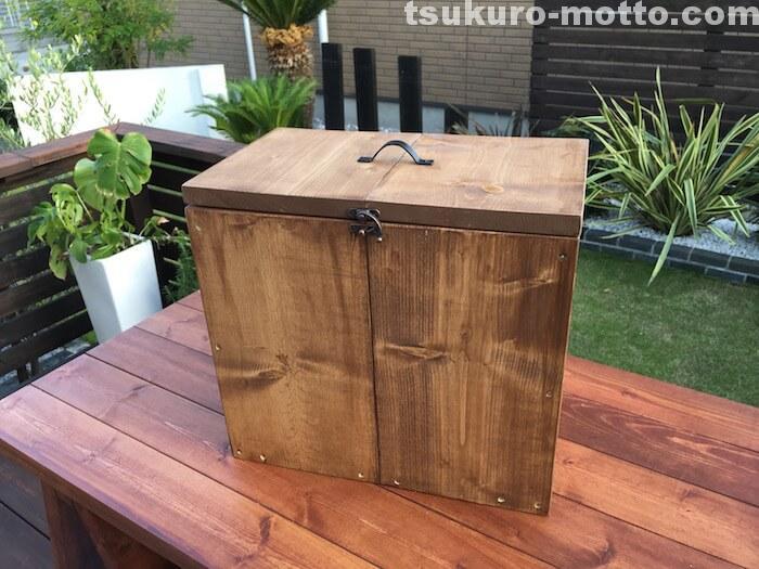 木箱DIY 完成
