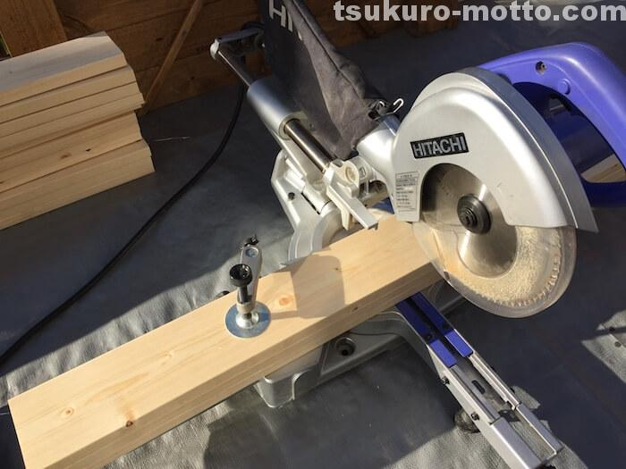 燻製ボックスDIY 木材カット1