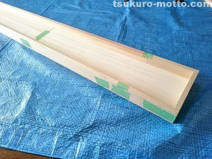 カウンター天板の製作1