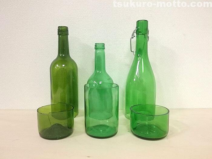 3種類のビン
