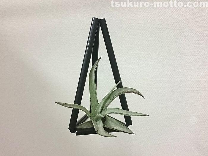 三角形のヒンメリ完成