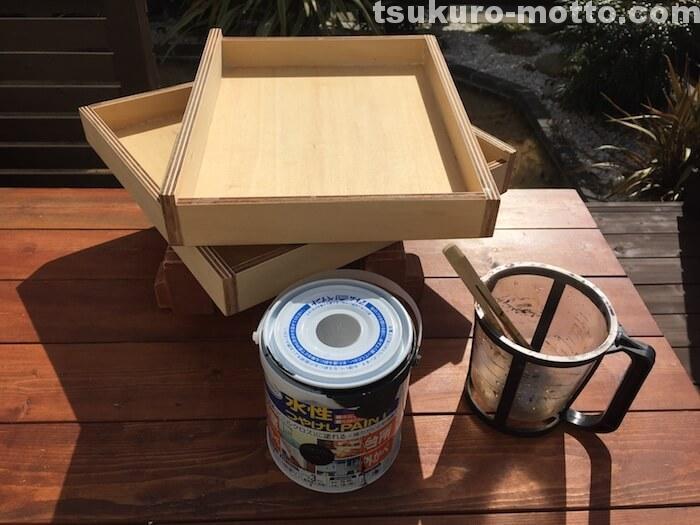 箱の塗装2