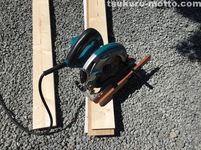外水道リメイクDIY 枠の製作1