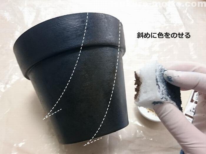 鉢の塗装3