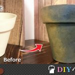 【DIYペイント講座】黒い鉢を焼き物風に加工する方法サムネイル