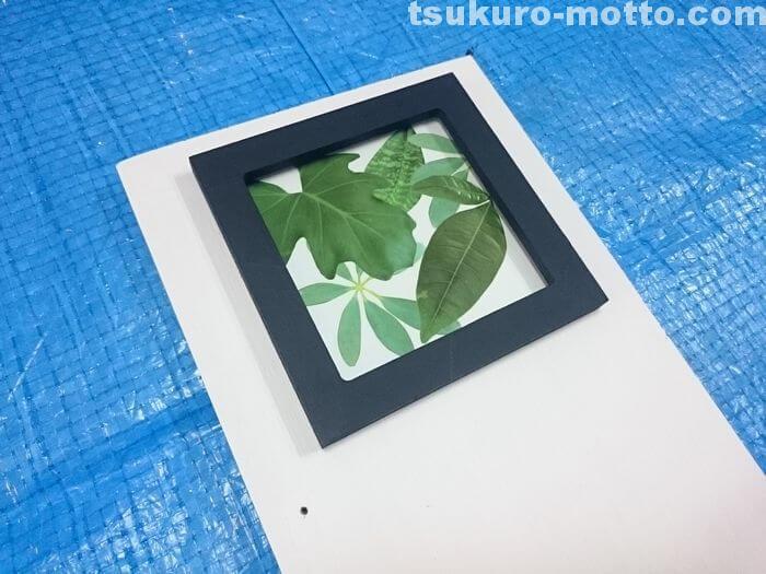 ガラスタイルの固定3