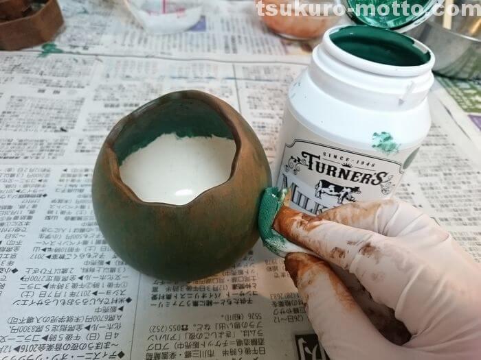 恐竜卵の製作5