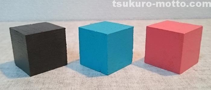 アクリルカラー 透明樹脂絵の具2色合い1