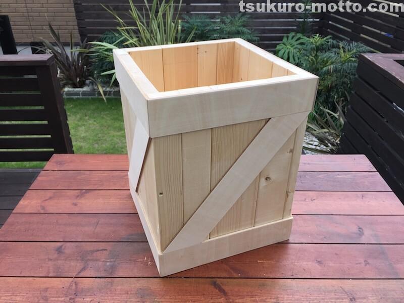 ゴミ箱DIY 組み立て12