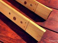 100均木材片欠き継ぎ