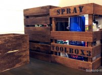 100均深型木箱DIY