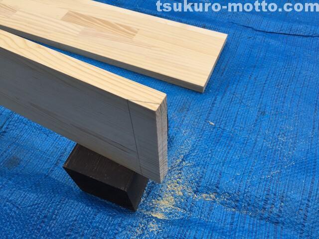 DIY 棚板加工1