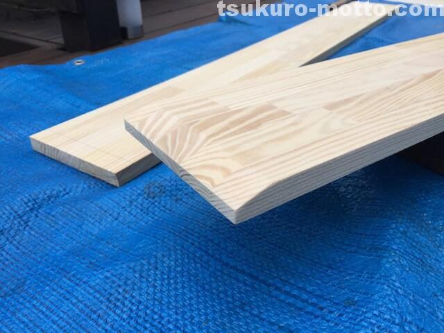 DIY 棚板加工3