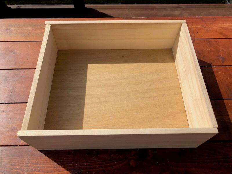 フラワーボックス木箱DIY 切出し3