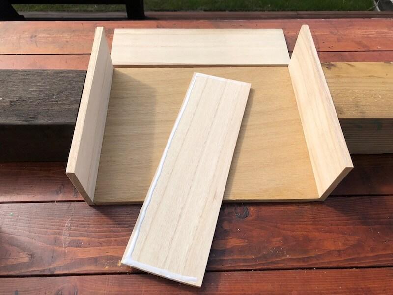 フラワーボックス木箱DIY 組立3