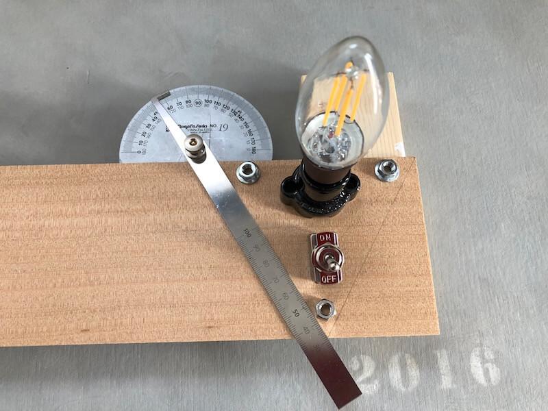 LEDライトスタンド 採寸