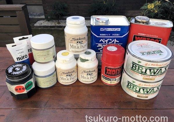 木部塗料の解説
