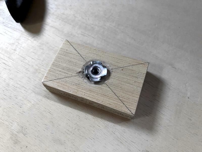 ボール盤DIY ストッパー4