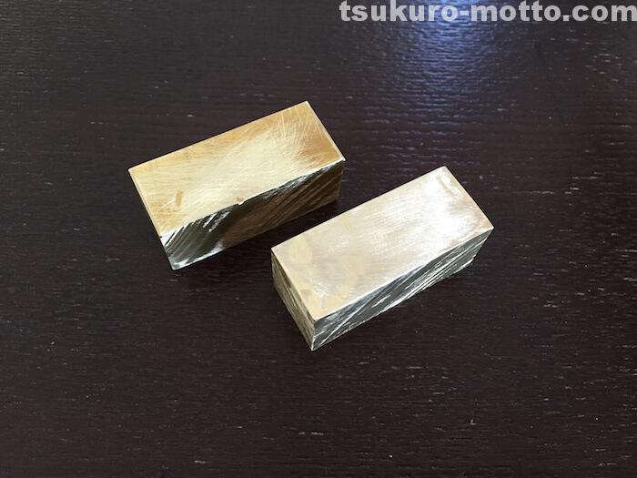 焼印DIY 真鍮カット5