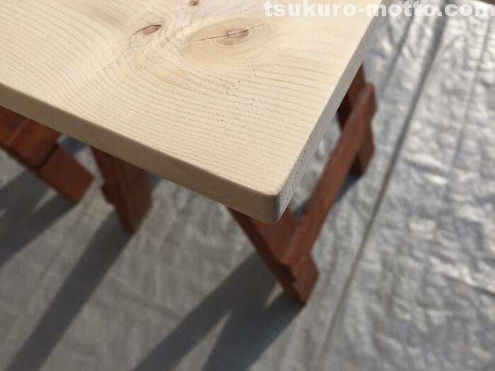 ダイニングテーブルDIY 天板仕上げ4