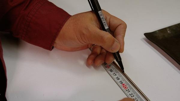 ステンレス丸棒を曲げる 検証2