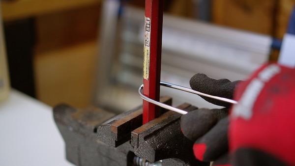 ステンレス丸棒を曲げる 検証5
