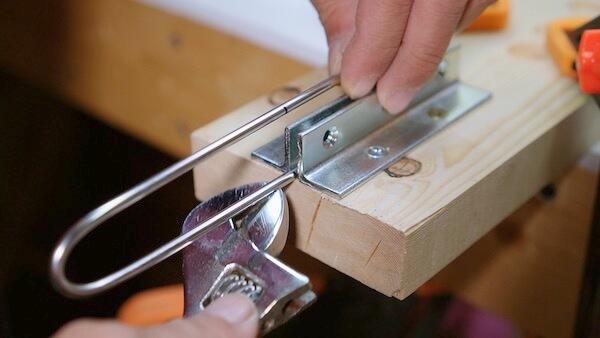 ステンレス丸棒を曲げる 検証7