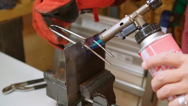 ステンレス丸棒を曲げる 検証13