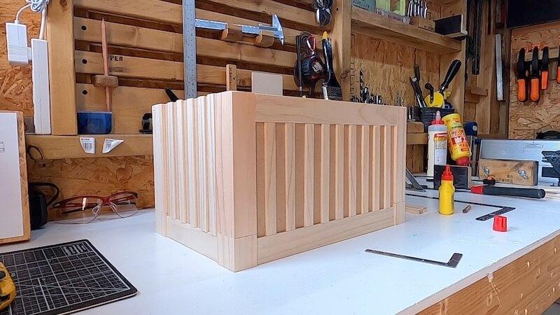 海上コンテナ風収納BOX 製作23
