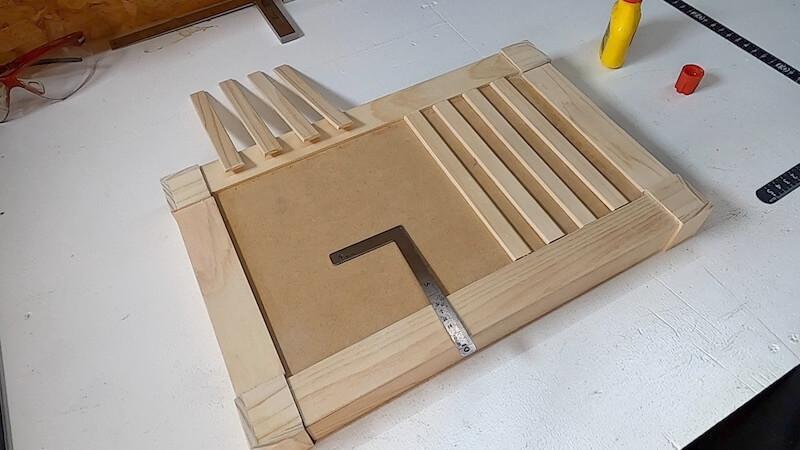 海上コンテナ風収納BOX 製作24