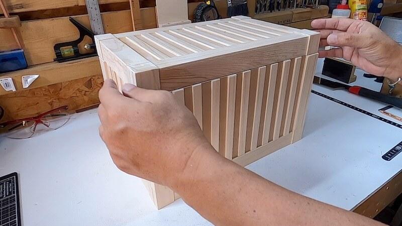 海上コンテナ風収納BOX 製作25
