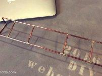 PCワイヤースタンドの作り方