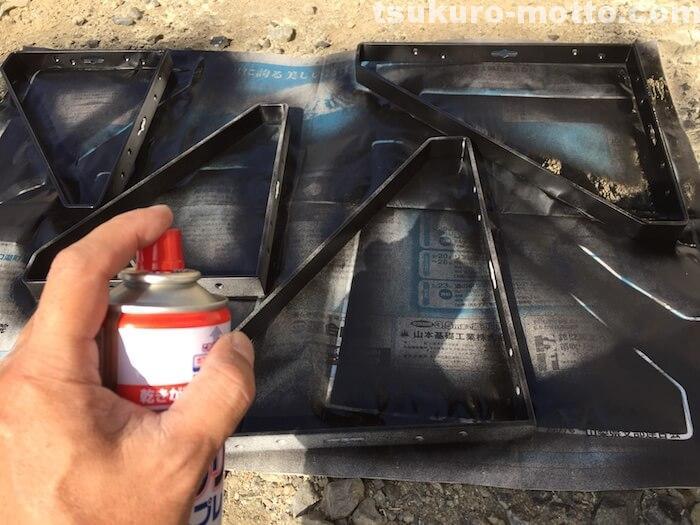 2100カウンターDIY 塗装3