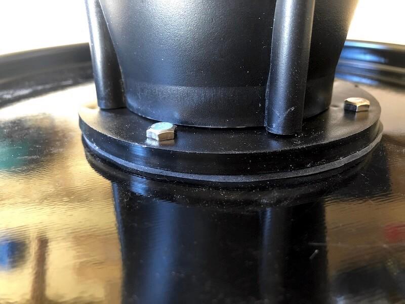 サイクロン集塵機 本体加工・組立13
