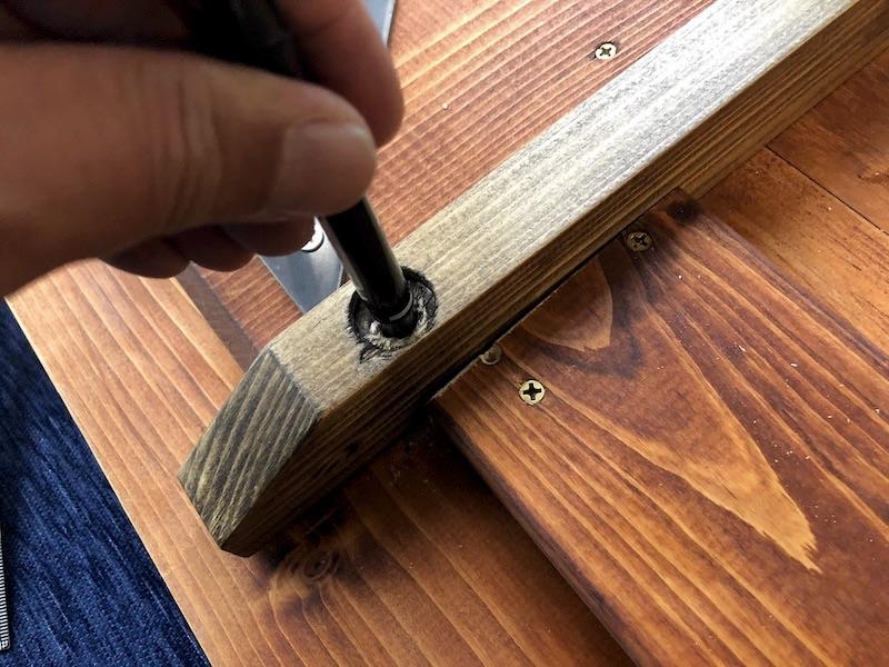 テーブル天板補修 鬼目ナット1