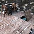 趣味小屋をDIY! ウッドデッキを改装してDIY工房を作る!解体作業編