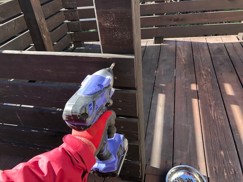 DIY工房 解体作業1
