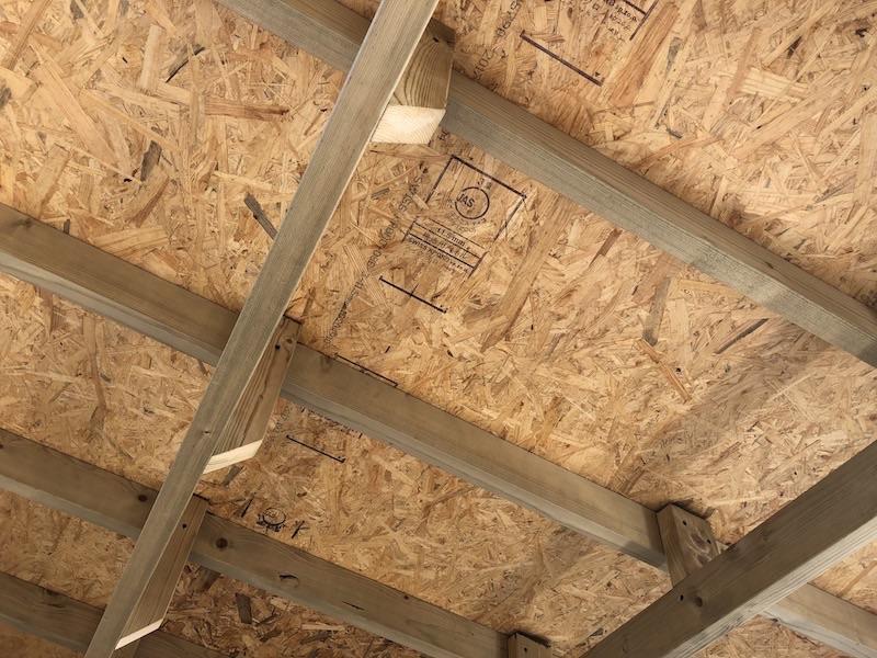 DIY工房製作 屋根下地製作 完成