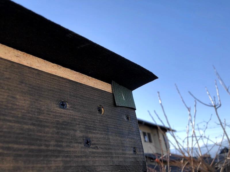 DIY工房製作 屋根下地製作 タイベックス貼り6