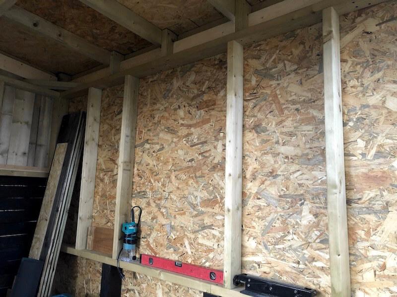 DIY工房 壁下地OSB合板9