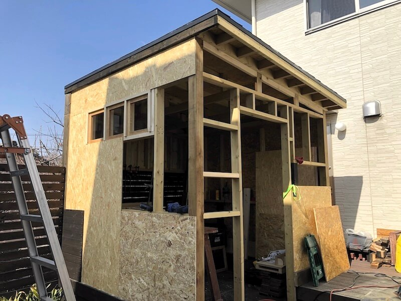 DIY工房 壁下地OSB合板4