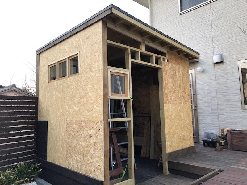 DIY工房 壁下地OSB合板5