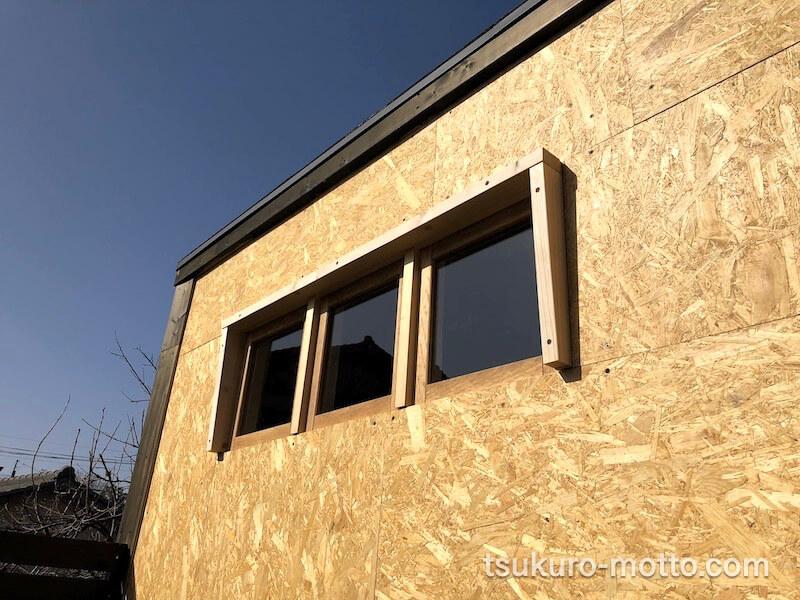DIY工房 ガラス窓庇製作4