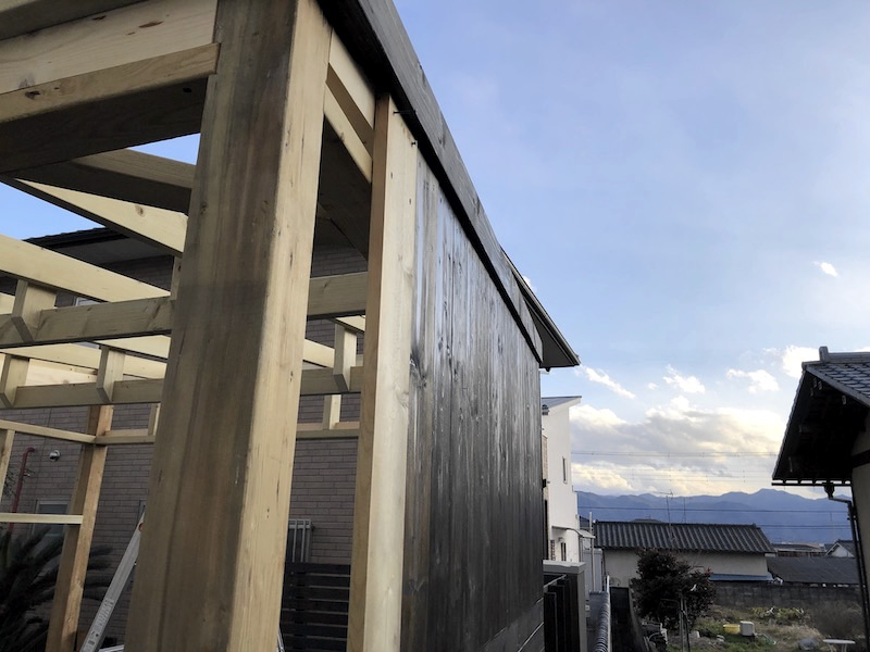 DIY工房製作 外壁製作5