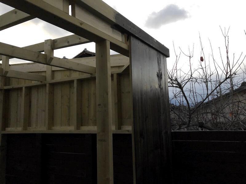 DIY工房製作 外壁製作8