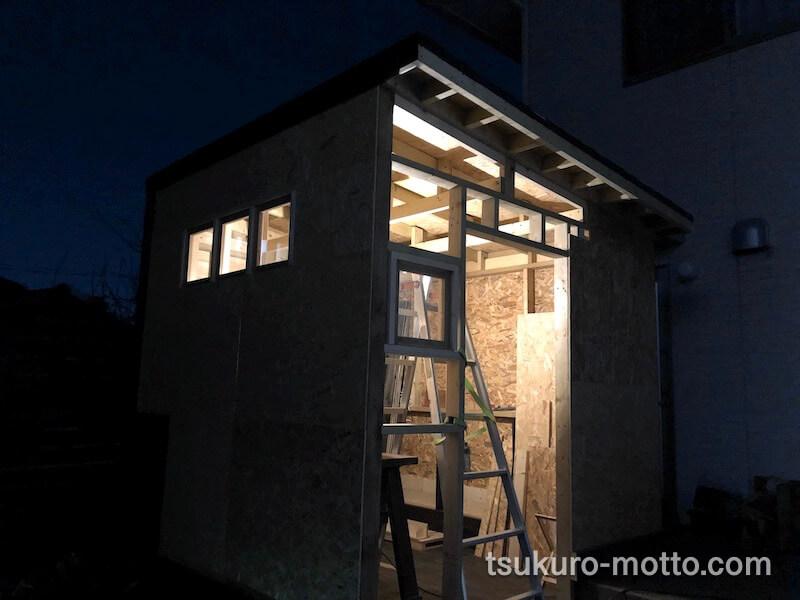 DIY工房 壁下地OSB合板7