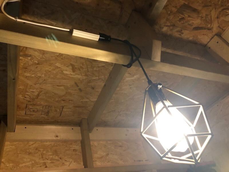 DIY工房 照明の電源