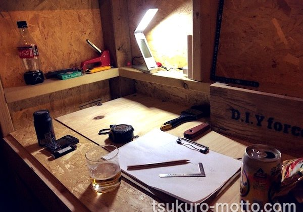 DIY工房を製作! 電気配線