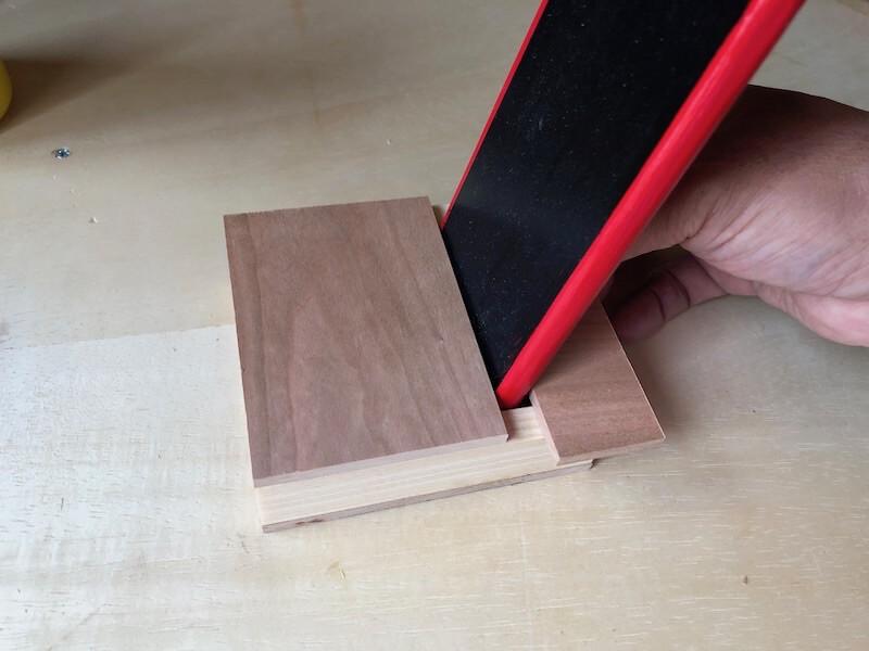 家具調iPhoneskeaker 本体製作8